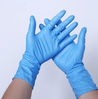 Luvas descartáveis 12dish Wash Trabalho Luvas de Proteção de Polegada Espessa Luva descartável Luvas resistentes ao desgaste GWC3806