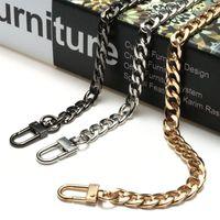 Taschen Teile Zubehör Hohe Qualität Metallkette Edelstahl Geldbörse Strap Griff Schulter Crossbody Handtasche