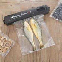Verbesserte Version Vakuum-Lebensmittel-Sealer 220V / 110V Automatisches Haushaltskost-Vakuum-Sealer-Verpackungsmaschine mit 10pcs-Taschen Freies Verschiffen