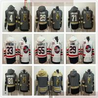 Genähte Hockey Hoodies Jerseys 29 Marc-Andre Fleury 71 William Karlsson Patrik Laine 33 Dustin Byfuglien 55 Mark Scheifele Jersey