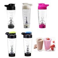 1 pc 600 ml Automação Elétrica Protein Shaker Juicer Garrafa de Água Movimento automático Café Misturador Smart Misturador Acessórios T200102