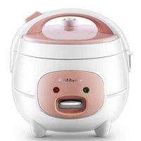 طباخات الأرز 220 فولت 2L لطيف مصغرة طباخ صغير 2-3 شخص الأجهزة المنزلية المنزلية مع مقبض