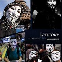 Factory Factory Shipping Horse Theme Vendetta V Monster V-Face Masquerade Halloween День рождения Маска для вечеринки F2403