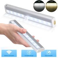 5 * Capteur de lumière de mouvement PIR LED Night Light Lights Dire Tiroir sous la lampe de l'armoire 6/10 LED