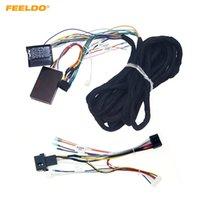 FEELELO CAR 16PIN 6-METER Расширенная проводка жгута кабеля с CANBUS для BMW E39 (01-04) / E53 (01-05) Aftermarket Stereo # 6728