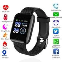 الساعات الذكية 116 بلس ID116 D13 معدل ضربات القلب ساعة معصمه الرياضة الساعات الذكية الفرقة ماء smartwatch الروبوت مع تغليف البيع بالتجزئة