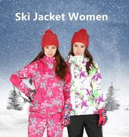 Skiing Jackets Winter Ski Jacket Women Suit Snowboarding Suits Outdoor Thick Thermal Snow And Pant Bib Pants Coat1