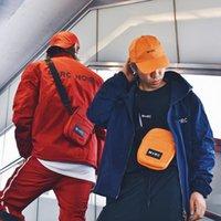 Ballkappen Orte + Gesichter Hut Mann Frauen Mode Lässige Stickerei Einstellbar M + RC Baseballkappe Orange Black White Cap1