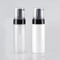 100 ml Kosmetische Gesichtsreiniger Waschcreme Kunststoff Pet Schaum Flasche Flüssig Seifenschaumpumpe Nachfüllbare Flaschen Für Reisen