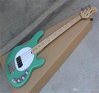 Müzik Aletleri 4 Strings Music Man Stingray Elektrik Bas Gitar 9 V pil girişimi