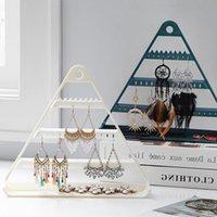 Tischwand Hängen Schmuck Organizer Kunststoff Schmuck Lager Rack Halskette Ohrringe Halter Display Stand Schmuck Lagerregal Regal