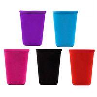 5 가지 색상 drinkware 핸들 재사용 가능 아이스 커피 슬리브 절연체 컵 슬리브 30oz 20oz 16 온스 음료수 Neoprene Cups 홀더 커버 케이스 133 N2