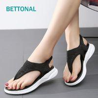 BETTONAL Flip Flop Flache Schuhe Frauen Sandalen Für Damen Weibliche Femme Mode Lässig 2021 Sommer Sandale Sandles Chaussure1