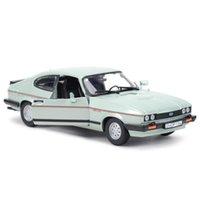 Bburago 1:24 Ford Capri 1982 carro esportivo estática morrem veículos elenco modelo colecionável carro brinquedos y1201