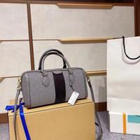 2021 Crossbody Classic Luxurys Designers Ophidia Boston Женская модная сумочка с луком Алмазные решетки на плечевой подушкой ведро винтажные сумки