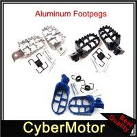 PEGs de pé de alumínio para PW50 PW80 TW200R90R90E XR50R CRF50 CRF70 CRF80 CRF100F Dirt Bike Motocross1