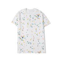 Men Clothing Summer Mens T Shirts Geometric Pattern Printing Fashion Men Women Couples Tee Cool Short Sleeve Crew Neck Tees
