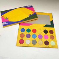 Kutu boya kalemi göz farı makyaj paleti ishadow 18 renk crayola göz farı mum boya vaka su geçirmez ışıltı mat göz farı