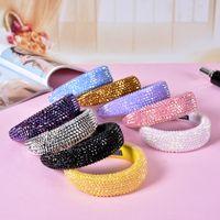 Brandnew Designer Straberry Stirnband Frauen Marke Silk Stirnband beste Qualität Marke Erdbeere Design Haar-Bänder Kopf für Frauen GirlsRainbo