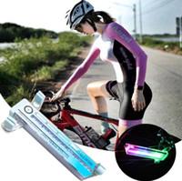 Две стороны GOFULE 14 LED Мотоцикл Велоспорт Лампы Велосипед Велосипед Сигнал Сигнал Шина Света 30 Изменения Списки Оборудование для велосипеда