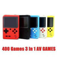 2020 HOT Portable Handheld video Game Console Retro 8 bit Mini Game Players 400 Games 3 In 1 AV GAMES Pocket Gameboy Color LC DHL