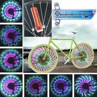 변화 자전거 뜨거운 휠 장식 빛 양면 16LED 스포크 라이트 1