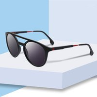 نظارات شمسية 2021 مكافحة الدوار أزياء الرجال نمط الإطار عدسة العدسات عرض الارتفاع الطول نموذج السمة البصرية رقم 1