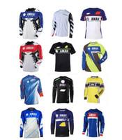 Motorrad Downhill-Trikots, Polyester Schnelltrocknende Off-Road-Fast-Downhill, langärmlige T-Shirts für Fans, alle Sonderanfertigungen im selben Stil