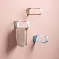 ABS-Lagerregner Kein Loch Badetuchhalter Lagerregal Home Organizer Küche Badwerkzeug für Handtücher