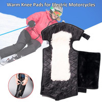 Winter Electric Motorcycle Warm Knee Pads Adjustable Windpro...