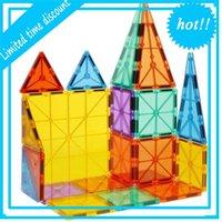 2020 Творческая Образовательная Игрушка 3D Магнитные Строительные Блоки Магнит Плитки Неопудра для детей