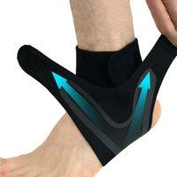 1 unids tobillo soporte abarrotes, elasticidad libre de ajuste de protección Foot vendaje, Prevención de esguinces Deporte Fitness Guard Band