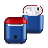 Protector de auriculares Bluetooth para Airpods 3 Pro Portable TPU Silicone Hard Hard PC Hybrid Hybrid Shock Resistente a los estuches protectores de la piel para Apple AirPods
