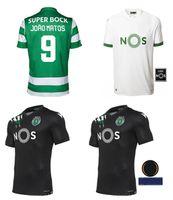20 21 스포츠 클럽 드 스포츠 CP Lissabon Fu Di Ball Trikots Phillype B.Fernandes New Men 's Soccer Jersey