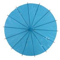 Am billigsten!!! Chinesische Japanepaper Parasol-Papier-Regenschirm für Hochzeit Brautjungfern Party Favors Sommer Sonnenschutz Kind Größe 128 G2