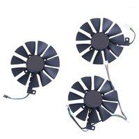 المراوح تبريد 87MM PLD09210S12M PLD09210S12HH مروحة تبريد استبدال برودة ل ASUS Strix GTX 1060 OC 1070 1080 1080TI RX 480 IE بطاقة Fan1