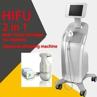 HIFU Liposonic 2 in 1 Face Lift 바디 슬림 기계 초음파 Liposonix 중량 손실 아름다움 장비 고강도 초음파 도구
