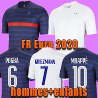 2020 mbappe grizmann pogba الفانيلة 2021 كرة القدم جيرسي كرة القدم قمصان mailleot دي القدم الرجال + kids kit