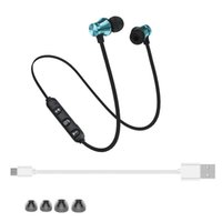 XT11 سماعات بلوتوث سماعات مغناطيسية لاسلكية تشغيل الرياضة سماعات الرأس BT 4.2 مع مايكروفون mic mp3 earbud لهواتف iPhone LG الذكية في المربع DHL