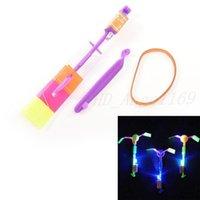 Hélicoptère de flèche LED en rotation des jouets volants Space UFO LED lumières de Noël cadeau cadeau enfants enfants jouets volants