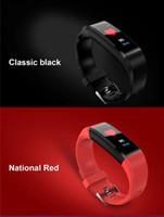 ID115 plus Smart Armbanduhr Herzfrequenz Fitness Tracker ID115HR Wasserdichter Armband Armband für Android-Mobiltelefone