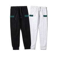 Pantalon pour hommes High Street Crowstring Pantalon de cordon en plein air Fitness Pullpants Hommes Femmes Joggers Top Qualité Red Green Couture Sport Pantalon