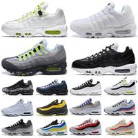 2020 الرجال 95 og وسادة البحرية chaussure الثلاثي 95 ثانية نيون دنهام المرأة الهواء الجري الرجعية ماكس الأحذية الأبيض الأسود vapourmax في جميع أنحاء العالم حزمة الجشع