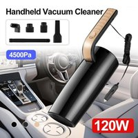 120W 12V 4500PA Limpiador de aspiradora Cleadera de mano Mini para automóviles potentes limpiadores de vacío Auto1