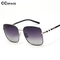49098 gradiente quadrado polarizado óculos de sol listra homens mulheres moda tonalidade uv400 vintage óculos j1211
