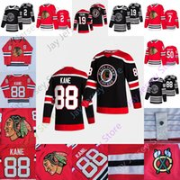 2021 New Chicago Blackhawks Ice Hockey Jersey 2 Duncan Keith 7 브렌트 슈즈 브룩 19 Jonathan Toews 50 Crawford 88 Patrick Kane 사이즈 S-3XL