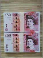 Prop Великобритания Доллар Горячие игрушки Поддельные деньги Party Pront Bank Bank Новая нота Подсчет Gifts-285 Деньги Праздничные Фильмы Игры Коллекции Продажи Dolla NTID
