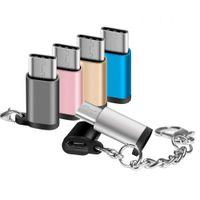 اكتب C محول USB C ذكر إلى مايكرو أنثى USB 3.0 OTG Data Sync Fast Charge Converter لسامسونج S10 S9 S8 Plus