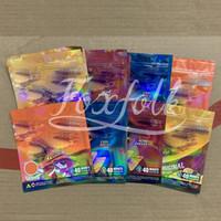 FSHIPS EDIbles MyLAR Borse da imballaggio 710 Pacchetto commestibile acido per Frit Dorr Formaggio originale Edibleable odol odoro borse con cerniera Chiusura a cerniera Poly Packages