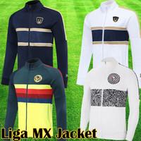 2021 liga mx jaqueta clube américa branco unam jaqueta g.ochoa 20 21 branco amarelo treinamento terno sobrevetimento futebol jogging camisola uniformes